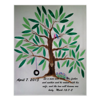 Wedding Tree Guest Book Gift