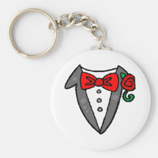 Wedding Tuxedo Keychain