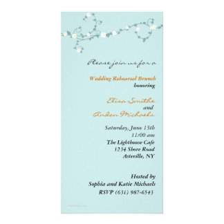Wedding Vines Rehearsal Invitation