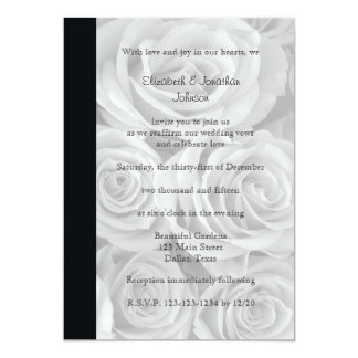 Wedding Vow Renewal Gorgeous Roses Card