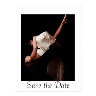 Wedding Waltz Save the Date Postcards