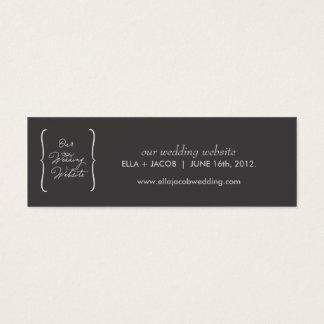 Wedding Website Cards // True Love Collection