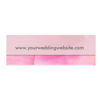 Wedding website gift tag cards business card