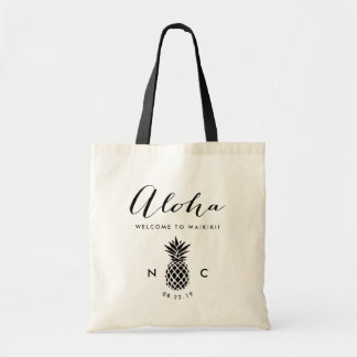 Wedding Welcome Bag | Pineapple Monogram