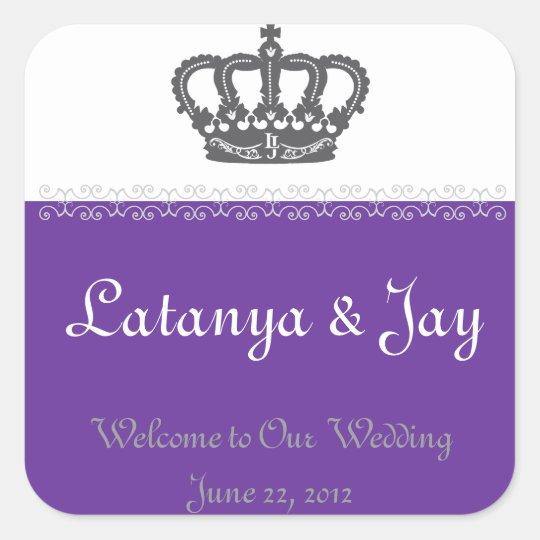 Wedding Welcome Bag Sticker