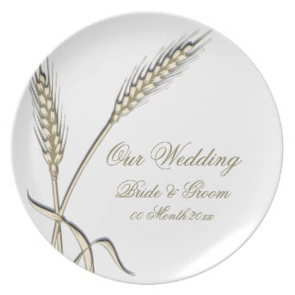 "Wedding wheat dinnerware ""country collection"""