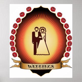 Weddings Mandorla Posters