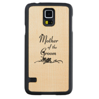 Weddings Mother of the Groom Carved® Maple Galaxy S5 Slim Case