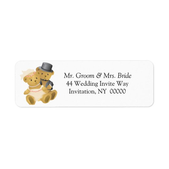 Weddings  Return Address Label Stickers
