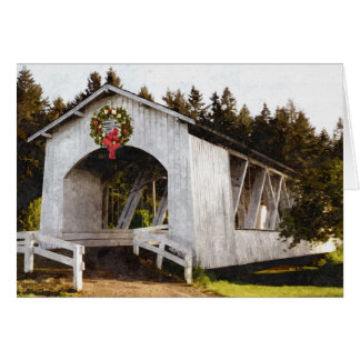Weddle Covered Bridge Christmas Card