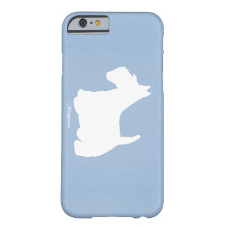 Wedgewoof Scottish Terrier Blue Barely There iPhone 6 Case