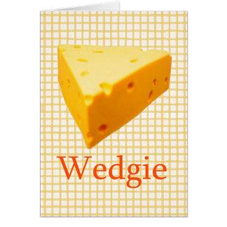 Wedgie Card