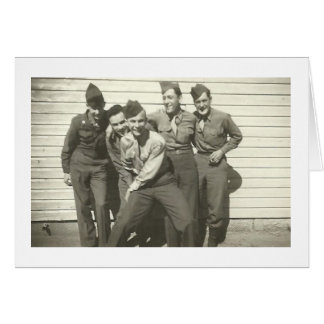 WEDGIE! Vintage 1940's Photo Notecards Card