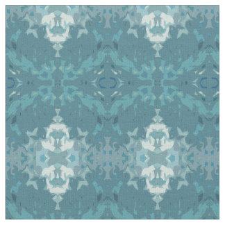 Wedgwood Snowflakes Fabric