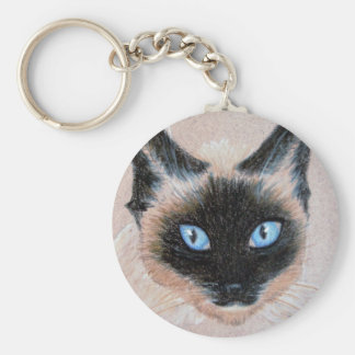 Wedgy Siamese Keychain