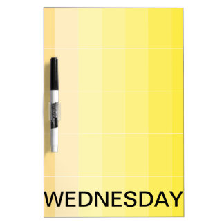 Wednesday Dry Erase Board Calendar Tools 2