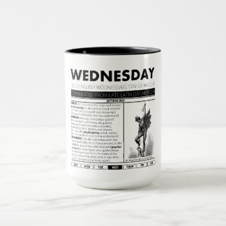 WEDNESDAY & THE MYTH BEHIND IT:  one of seven cups