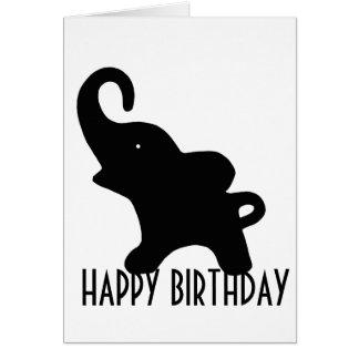 Wee Elephant Happy Birthday Card