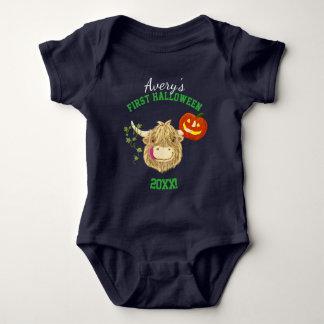Wee Hamish Baby's First Halloween Baby Bodysuit