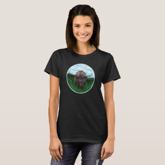 Wee Heilan Coo In The Meadow T-Shirt