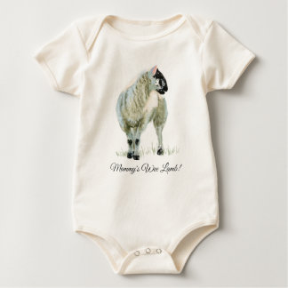 Wee Lamb Baby Bodysuit