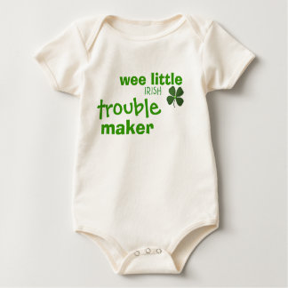 Wee Little Irish Trouble Maker Infant Creeper