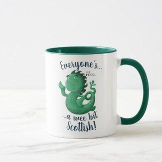 Wee Nessie, Everyone's A Wee Bit Scottish! Mug