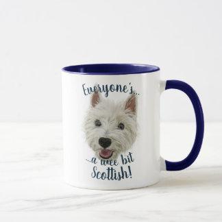 Wee Westie, A Wee Bit Scottish! Mug
