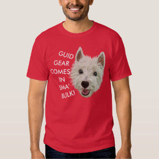 Wee Westie Blessing Tshirts