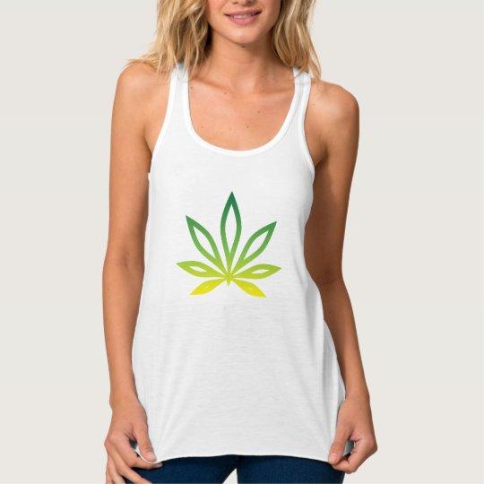 Weed Brand Tank Leaf