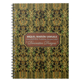 Weed Decorative Nature Modern Notebook