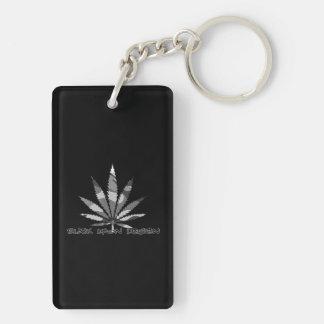 weed design keychain
