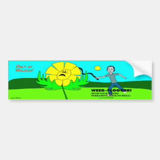 Weed Flogger Bumper Sticker! Bumper Sticker