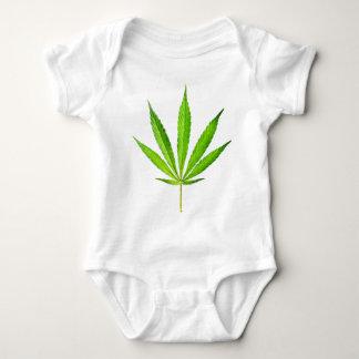 WEED LEAF BABY BODYSUIT