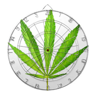 WEED LEAF DARTBOARD