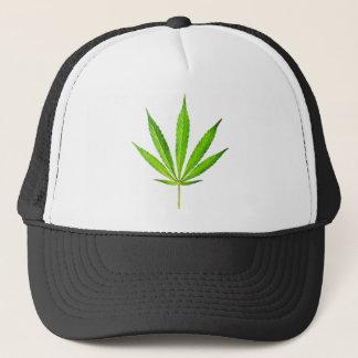 WEED LEAF TRUCKER HAT