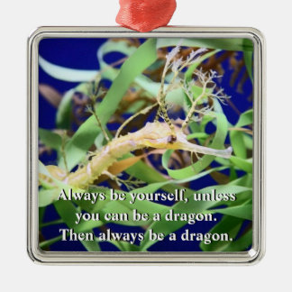 Weedy Sea Dragon Metal Ornament