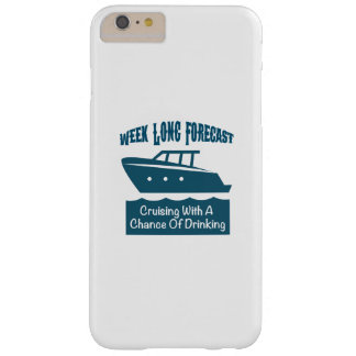 Week Forecast Cruising With A Chance Of Drinking Barely There iPhone 6 Plus Case