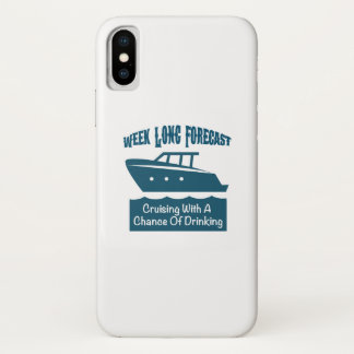 Week Forecast Cruising With A Chance Of Drinking Case-Mate iPhone Case