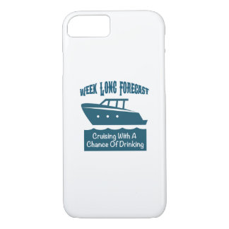 Week Forecast Cruising With A Chance Of Drinking iPhone 8/7 Case