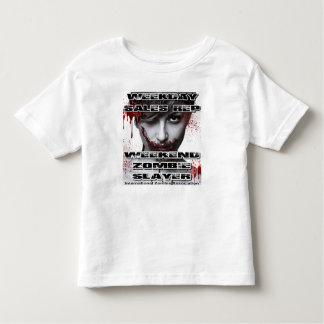 Weekday Sales Rep, Weekend Zombie Slayer. Toddler T-shirt