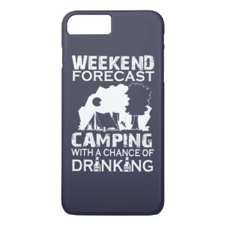 WEEKEND FORECAST CAMPING ... iPhone 7 PLUS CASE