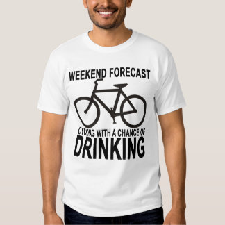 Weekend Forecast Cycling.png T Shirts