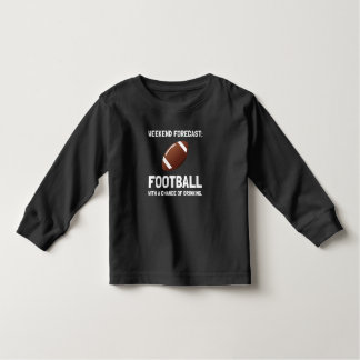 Weekend Forecast Football White2.png T-shirt