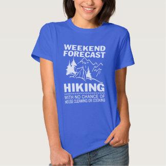 Weekend forecast hiking shirts