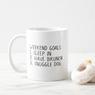 Weekend Goals Mug