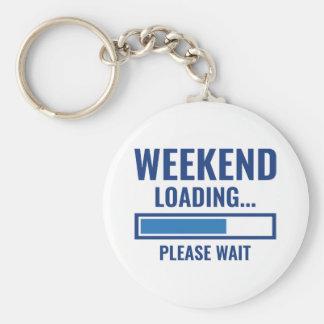 Weekend Loading Keychain