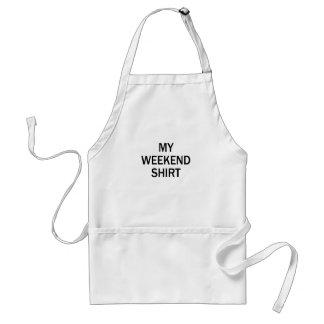 weekend shirt standard apron