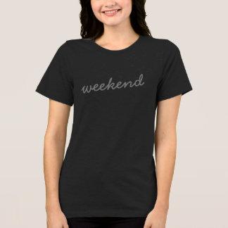 weekend trendy cute t-shirt design