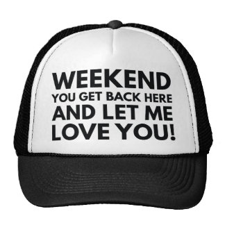 Weekend Trucker Hat